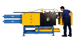 Continuous Back Flush Polymer Extrusion Screen Changer (CSC-BF) Melt Filter