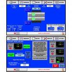 Polymer Extrusion Gear Pump Screen Changer Controls