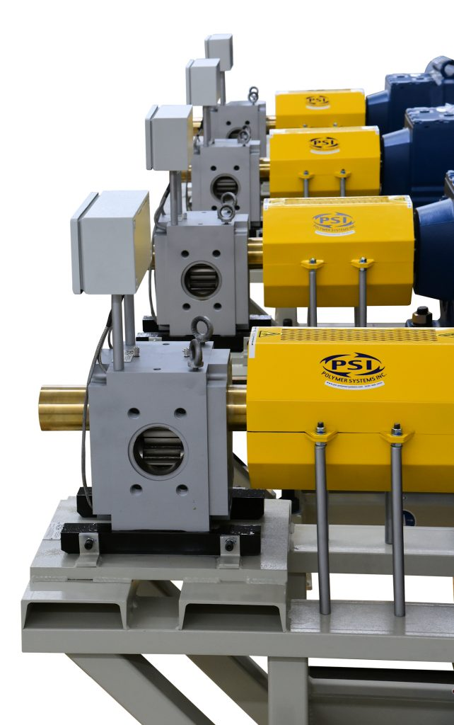 High Pressure Extrusion Gear Pumps for Polymer Melt