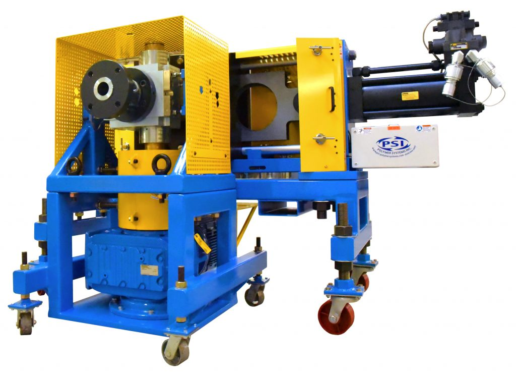 Polymer screen changer and gear pump for extrusion systems