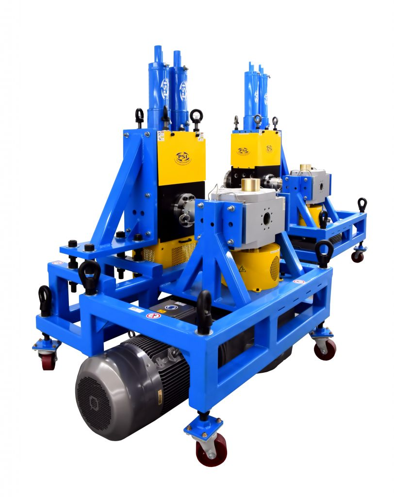 Polymer Extrusion Gear Pump and Screen Changer System