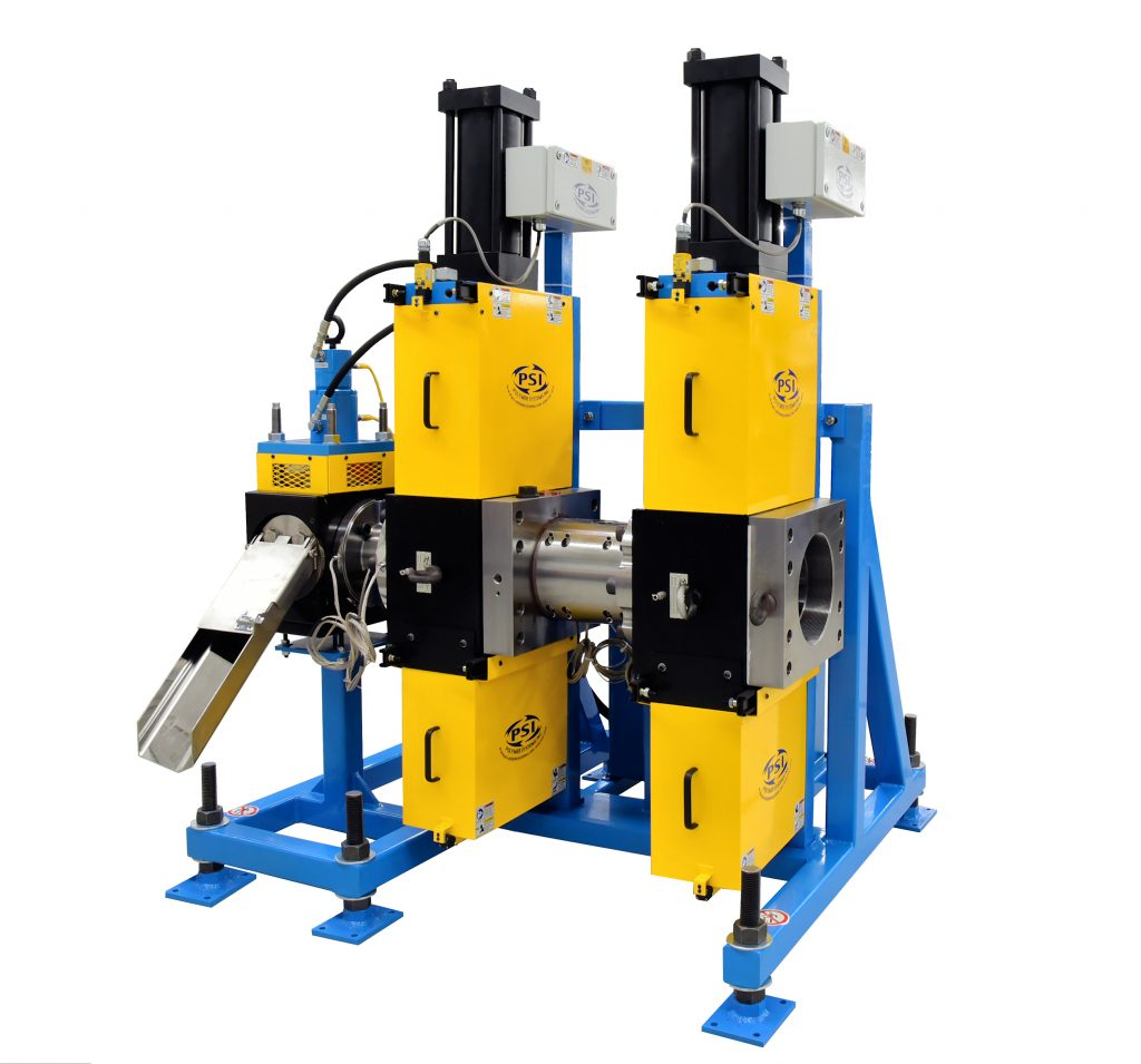 Polymer Extrusion Dual Hydraulic Slide Plate Screen Changer with Diverter Valve