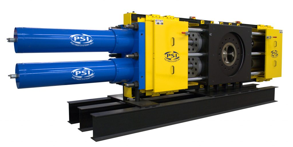 Polymer Extrusion Extended Area Screen Changer (EAC) Melt Filter