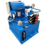 Hydraulic Power Unit for Polymer Extrusion Screen Changer Melt Filter
