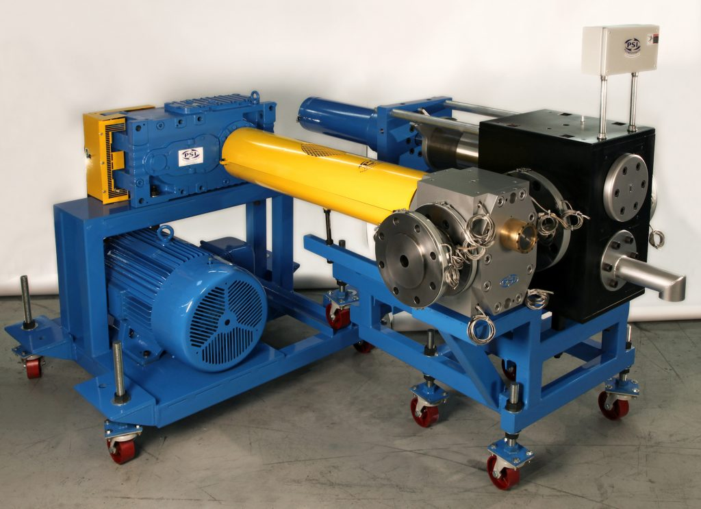 Screen changer and gear pump