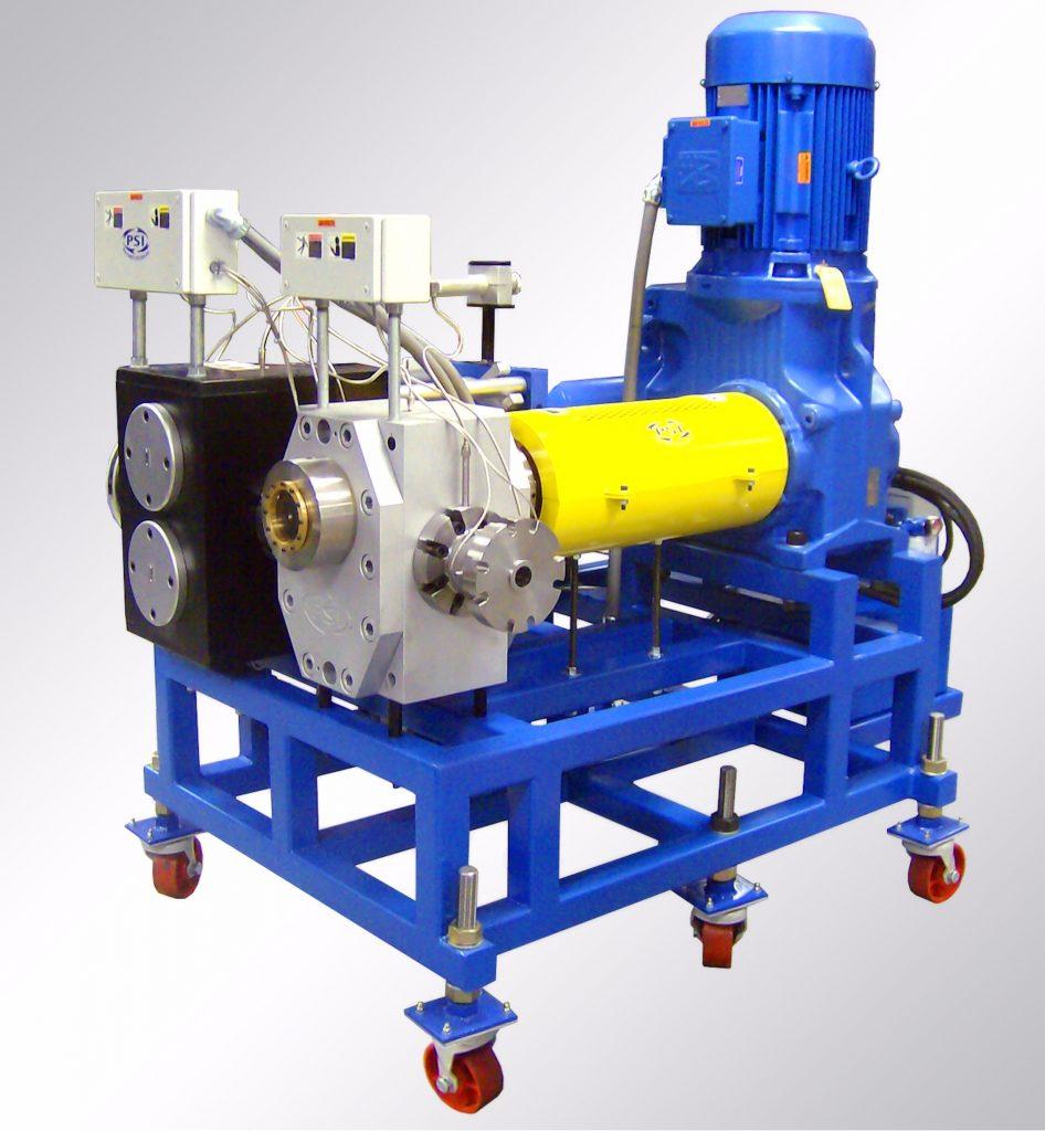 Screen changer gear pump system