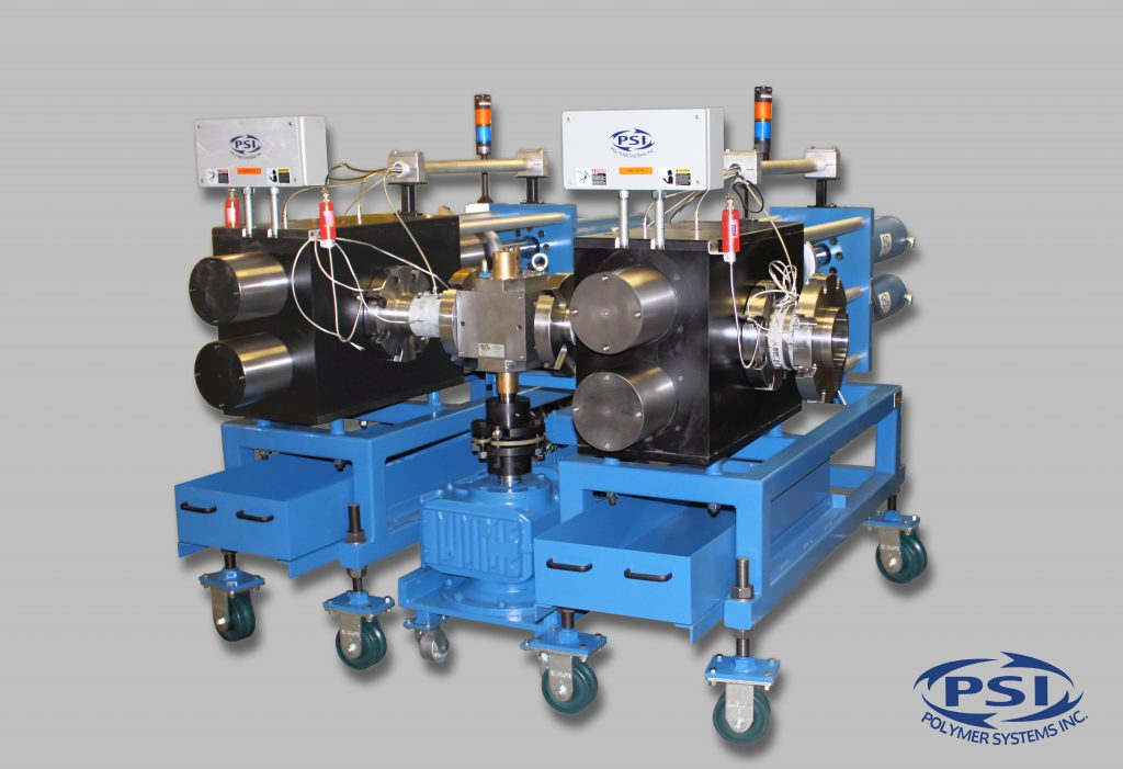Tandem Polymer Extrusion Continuous Screen Changer System for PCR PET for fine filtration