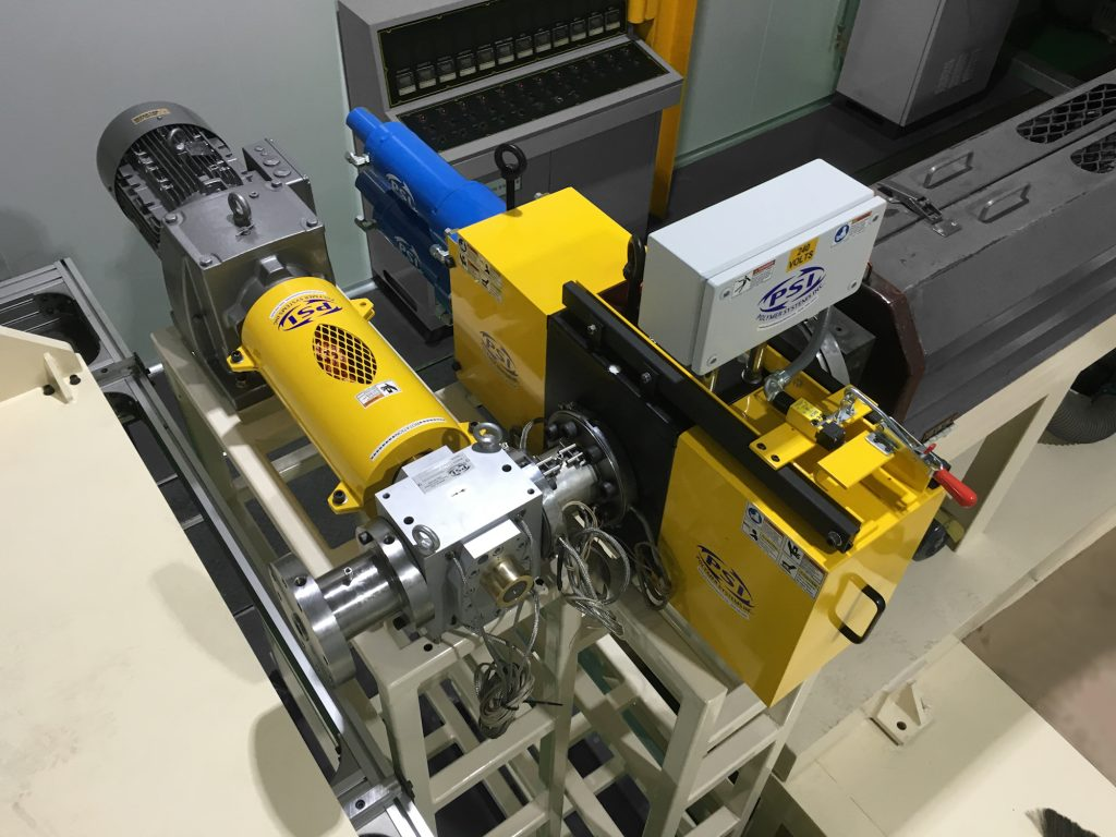 olymer Extrusion Screen Changer with Gear Pump System in plant sheet line